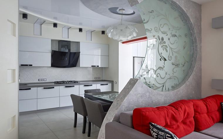 Квартира. кухня из проекта , фото №69688