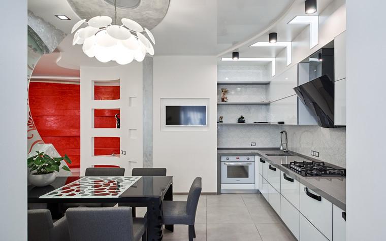 Квартира. кухня из проекта , фото №69691