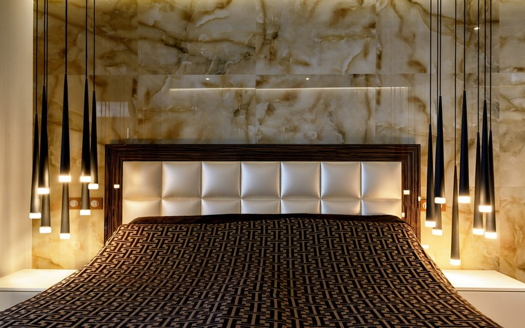 интерьер спальни - фото № 69709