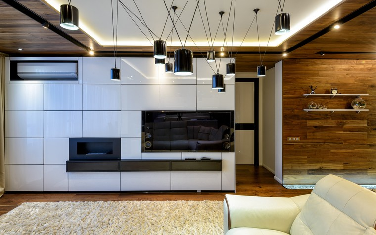 интерьер гостиной - фото № 69701