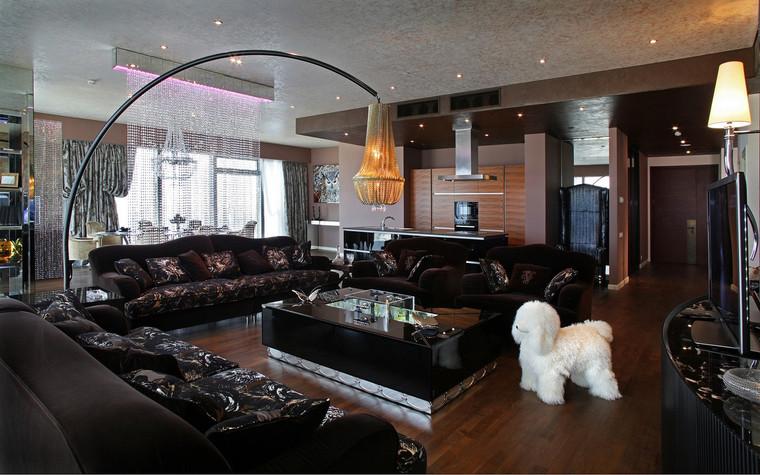 интерьер гостиной - фото № 69778