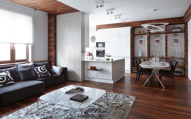 интерьер гостиной - фото № 69795