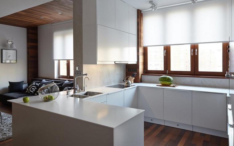 Фото № 69797 кухня  Квартира