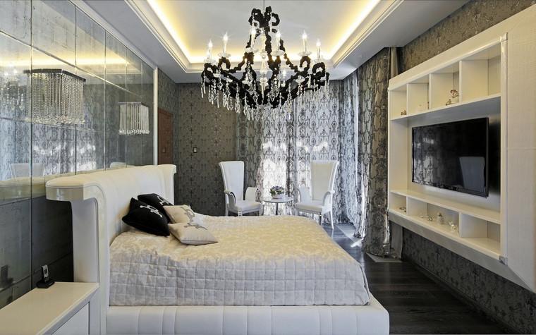 интерьер спальни - фото № 69833