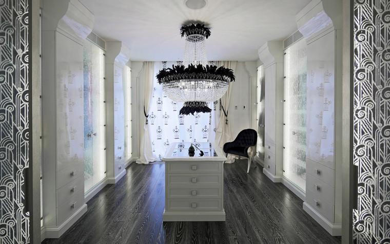интерьер гардеробной - фото № 69845