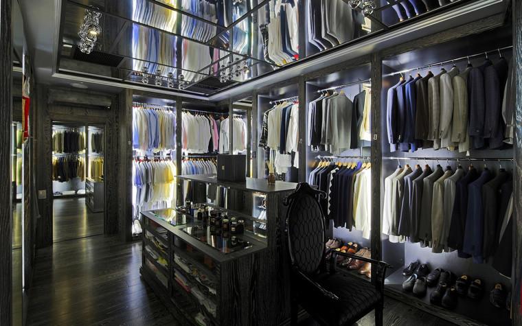 интерьер гардеробной - фото № 69844
