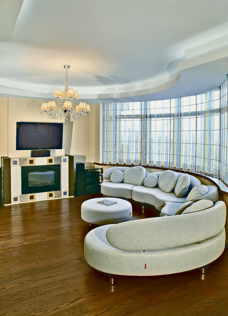 интерьер гостиной - фото № 69929
