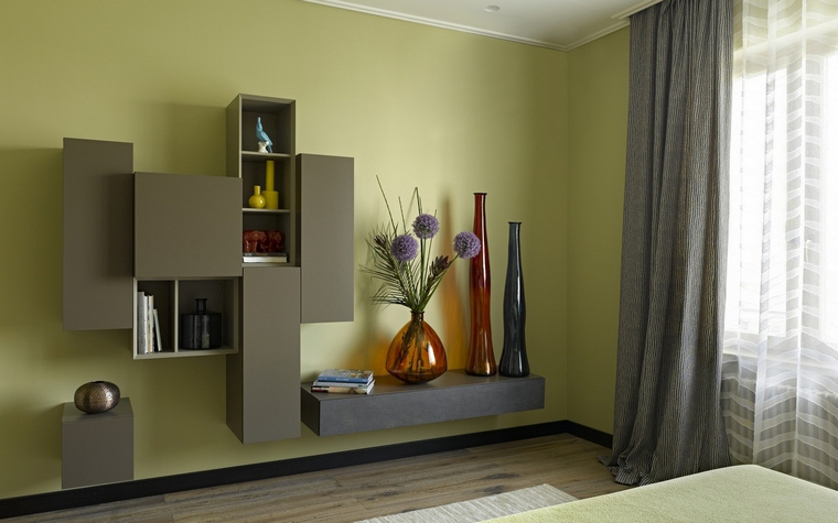 Квартира. спальня из проекта , фото №69949