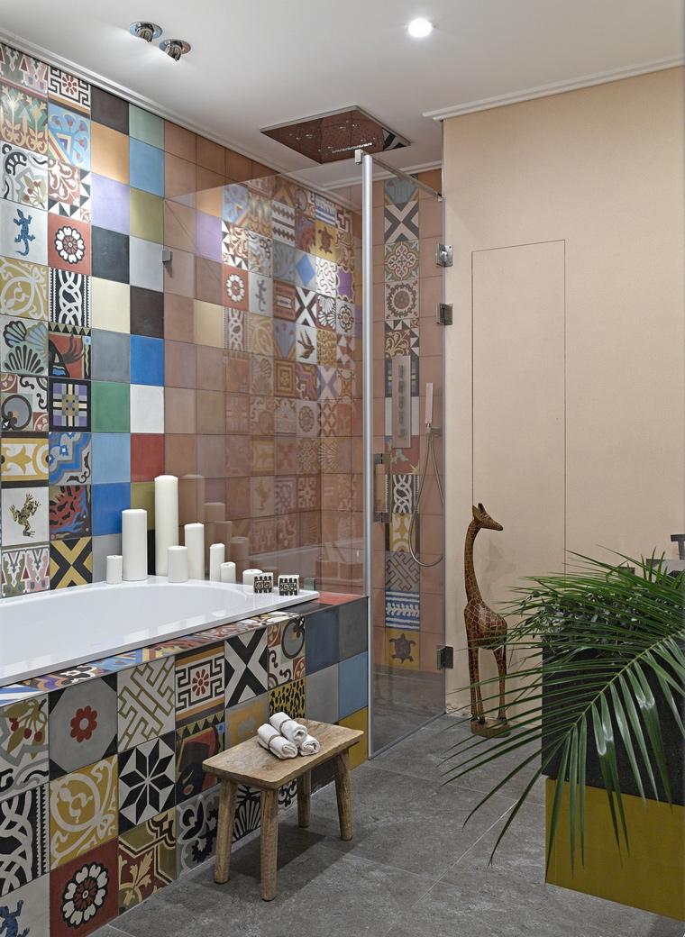 Квартира. ванная из проекта , фото №69950