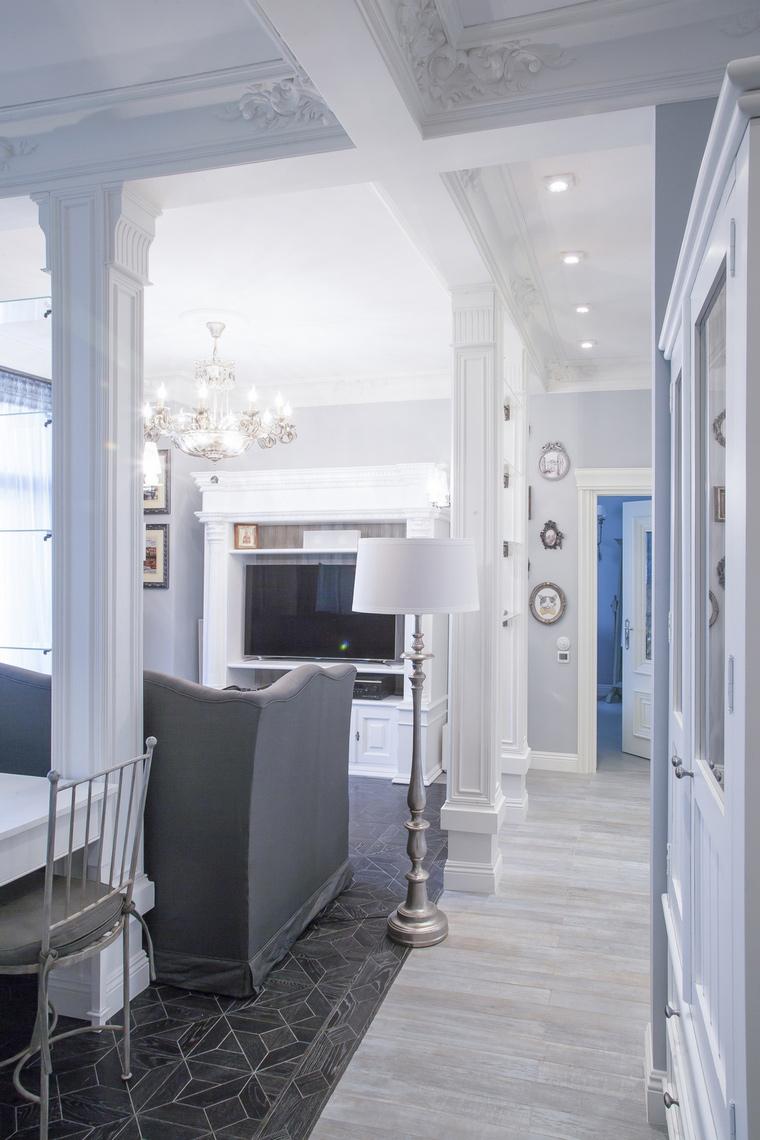 интерьер гостиной - фото № 70022