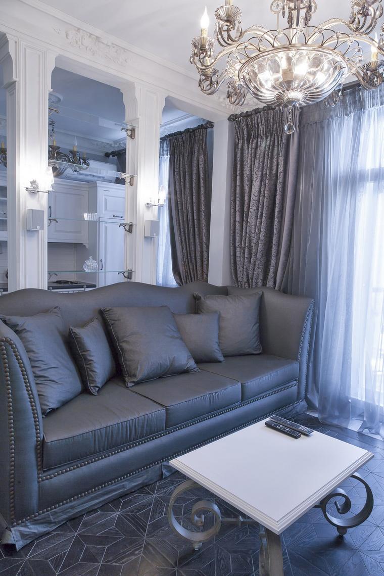 интерьер гостиной - фото № 70018
