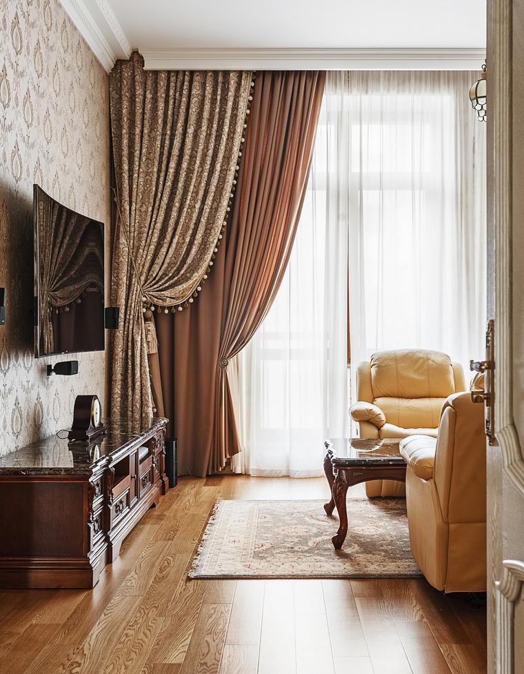 Квартира. гостиная из проекта , фото №70118