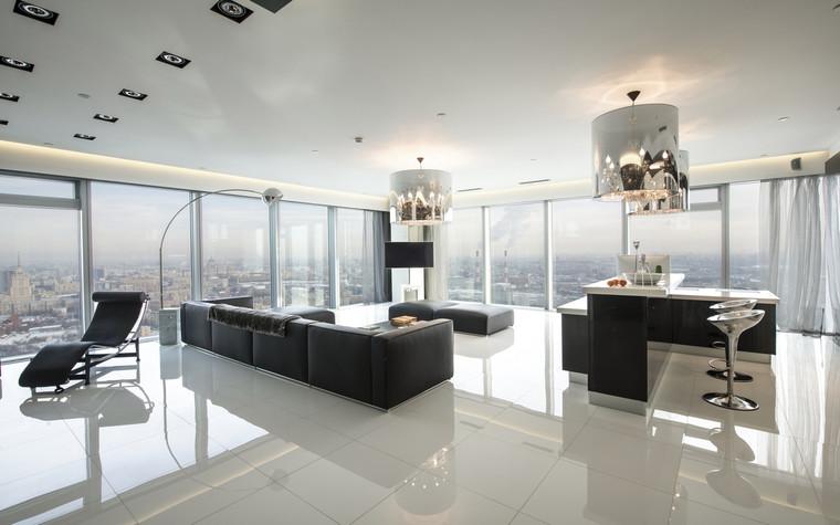 интерьер гостиной - фото № 70147