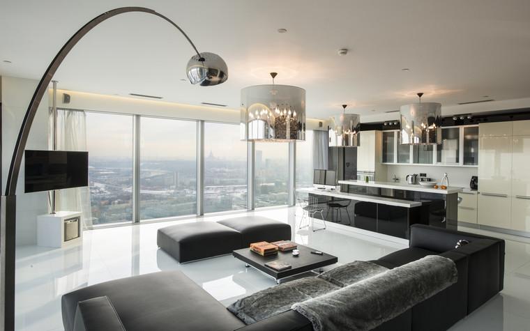 интерьер гостиной - фото № 70150