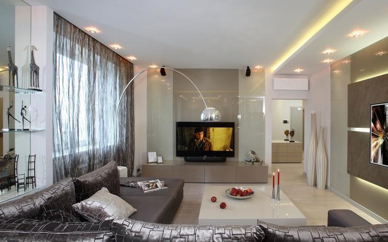 интерьер гостиной - фото № 70247