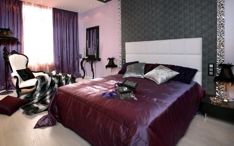 Квартира. спальня из проекта , фото №70265