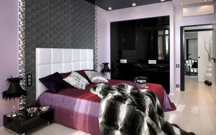 Квартира. спальня из проекта , фото №70266