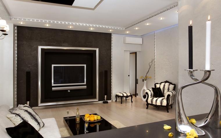 интерьер гостиной - фото № 70259