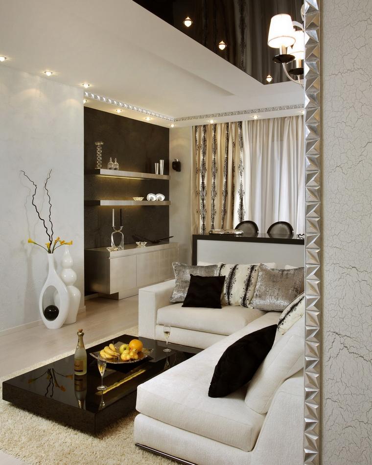 Квартира. гостиная из проекта , фото №70260