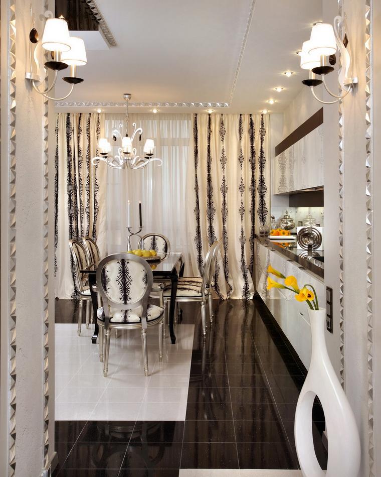 Квартира. кухня из проекта , фото №70263