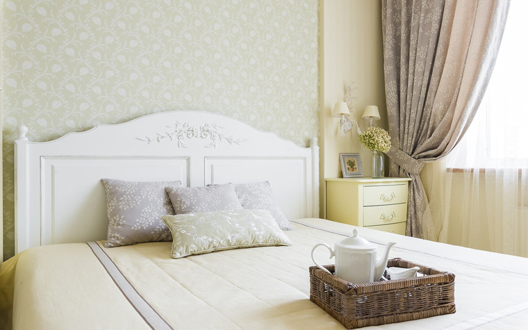 Квартира. спальня из проекта , фото №70302