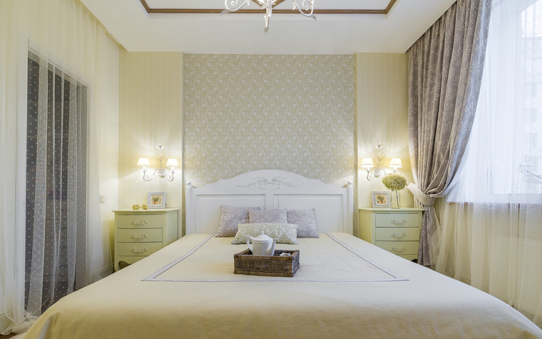 Квартира. спальня из проекта , фото №70305