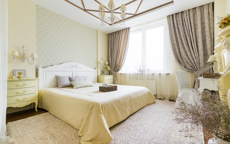 Квартира. спальня из проекта , фото №70313