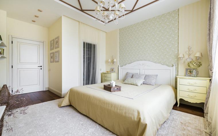 Квартира. спальня из проекта , фото №70309