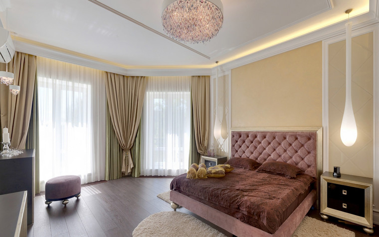 интерьер спальни - фото № 70500