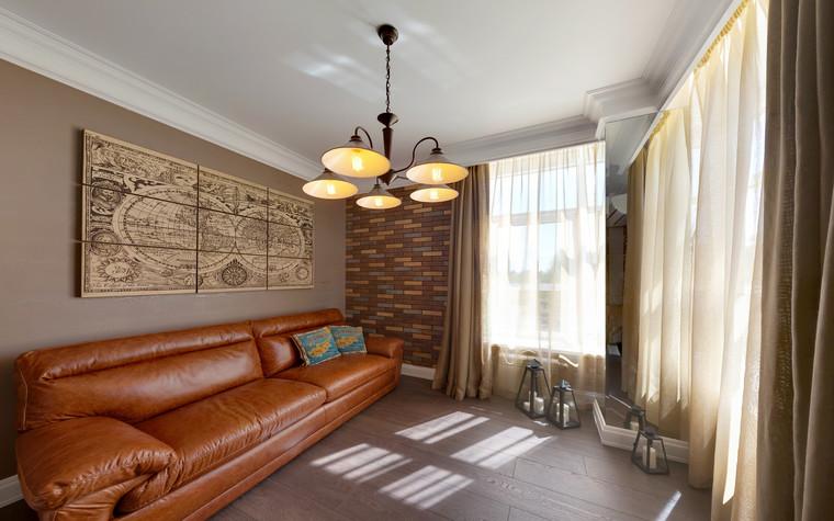 интерьер гостиной - фото № 70498