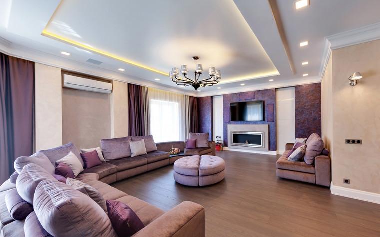 Квартира. гостиная из проекта , фото №70482