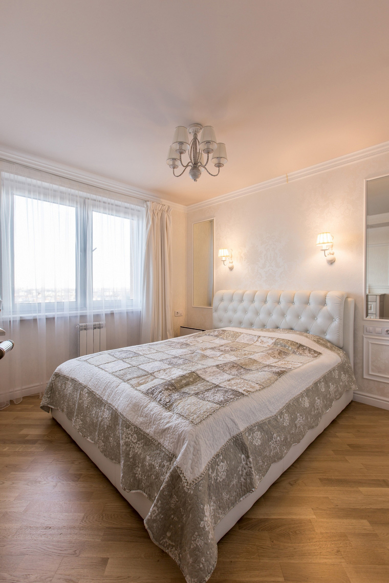 Квартира. спальня из проекта , фото №70609