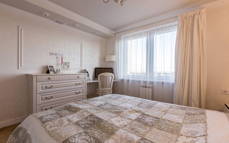 Квартира. спальня из проекта , фото №70608