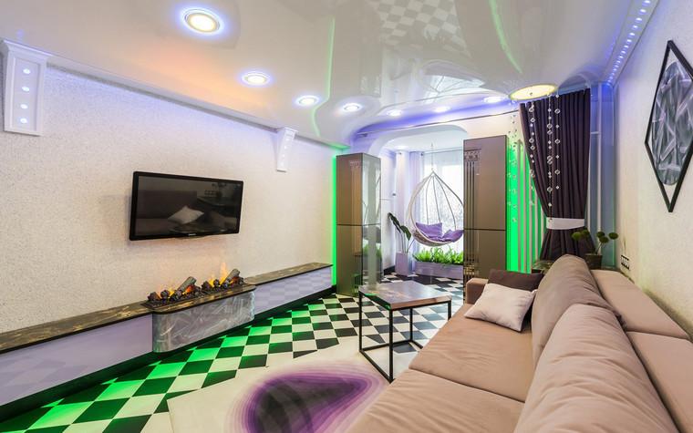 Квартира. гостиная из проекта , фото №70800