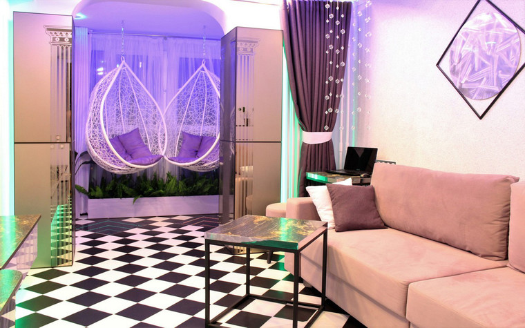 Квартира. гостиная из проекта , фото №70798
