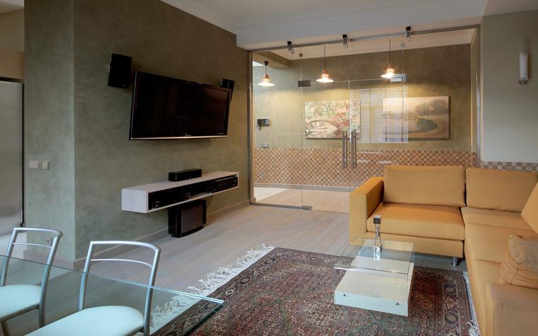 Квартира. гостиная из проекта , фото №70982