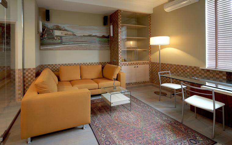 Квартира. гостиная из проекта , фото №70977
