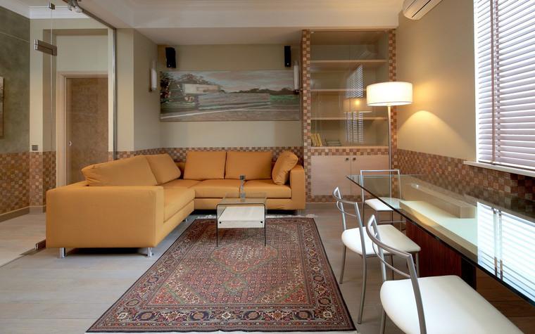 Квартира. гостиная из проекта , фото №70976
