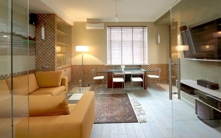Квартира. гостиная из проекта , фото №70980