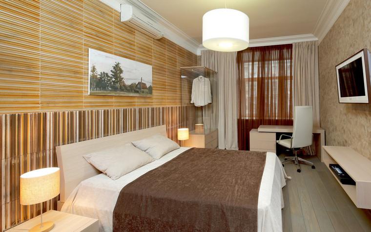 Квартира. спальня из проекта , фото №70992