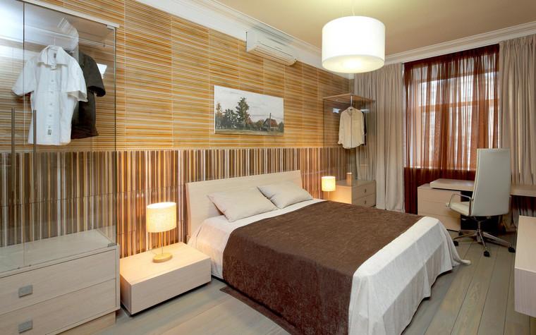 Квартира. спальня из проекта , фото №70991