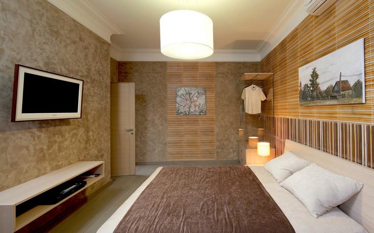 Квартира. спальня из проекта , фото №70993