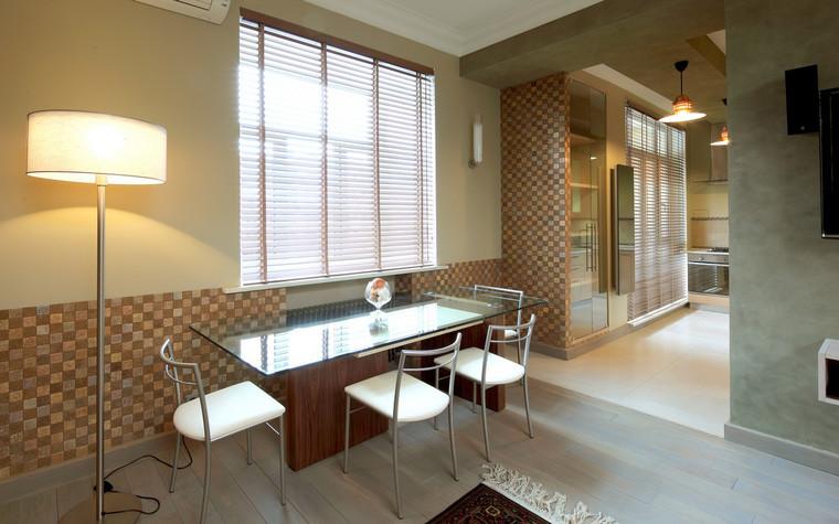 Квартира. столовая из проекта , фото №70984