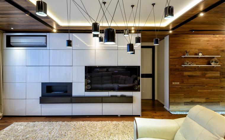 Квартира. гостиная из проекта , фото №71532