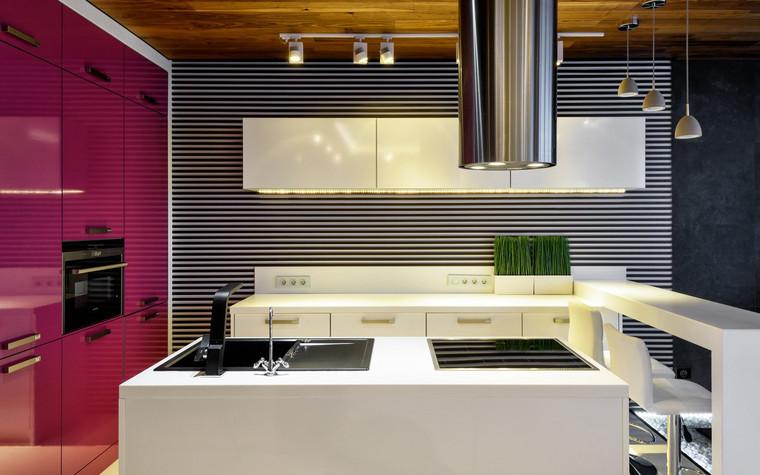 Квартира. кухня из проекта , фото №71534