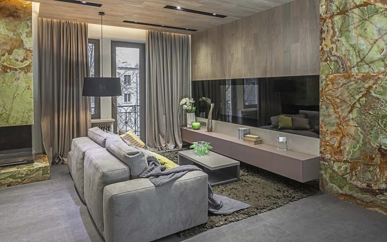 Квартира. гостиная из проекта , фото №71187