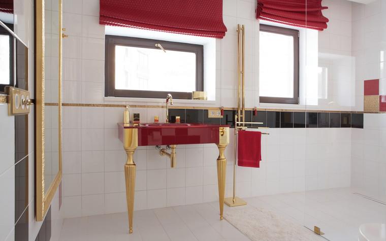Квартира. ванная из проекта , фото №71826