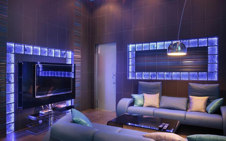 Квартира. гостиная из проекта , фото №71816