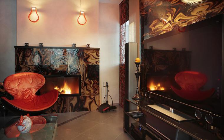 Квартира. гостиная из проекта , фото №71818