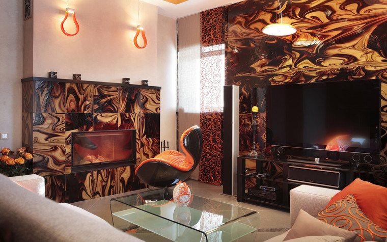 Квартира. гостиная из проекта , фото №71812